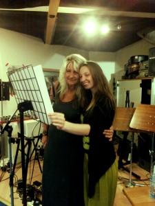 Im Tonstudio mit der bezaubernden Su Ehlers