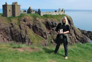 Dunnottar Castle, Tyne 1 und ich