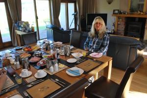 """""""Kleines Frühstück"""" im Garadh Buide Guesthouse"""