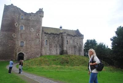 Doune Castle und ich