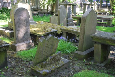 Friedhof in Aberdeen, Schottland